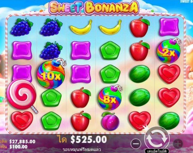 กติกาในการเล่น Sweet Bonanza